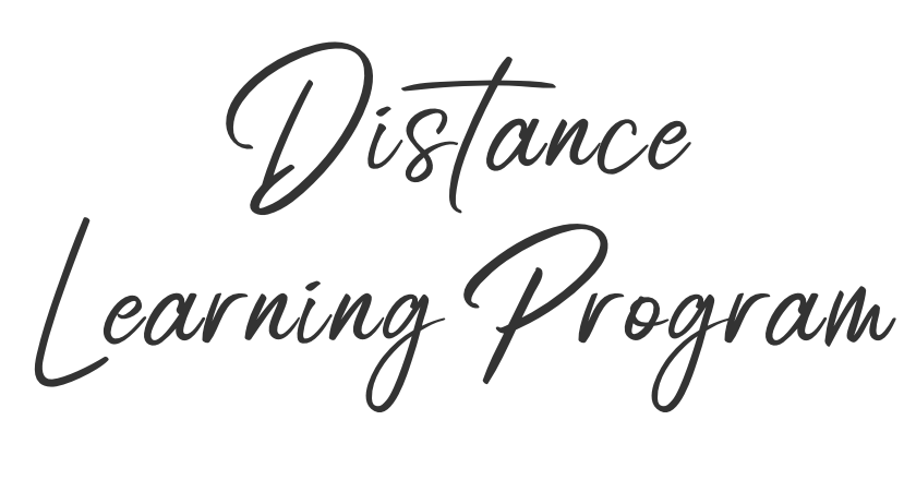 Distance Larning Program