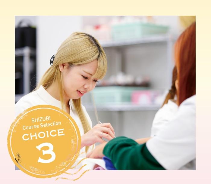 SHIZUBI Course Selection CHOICE3